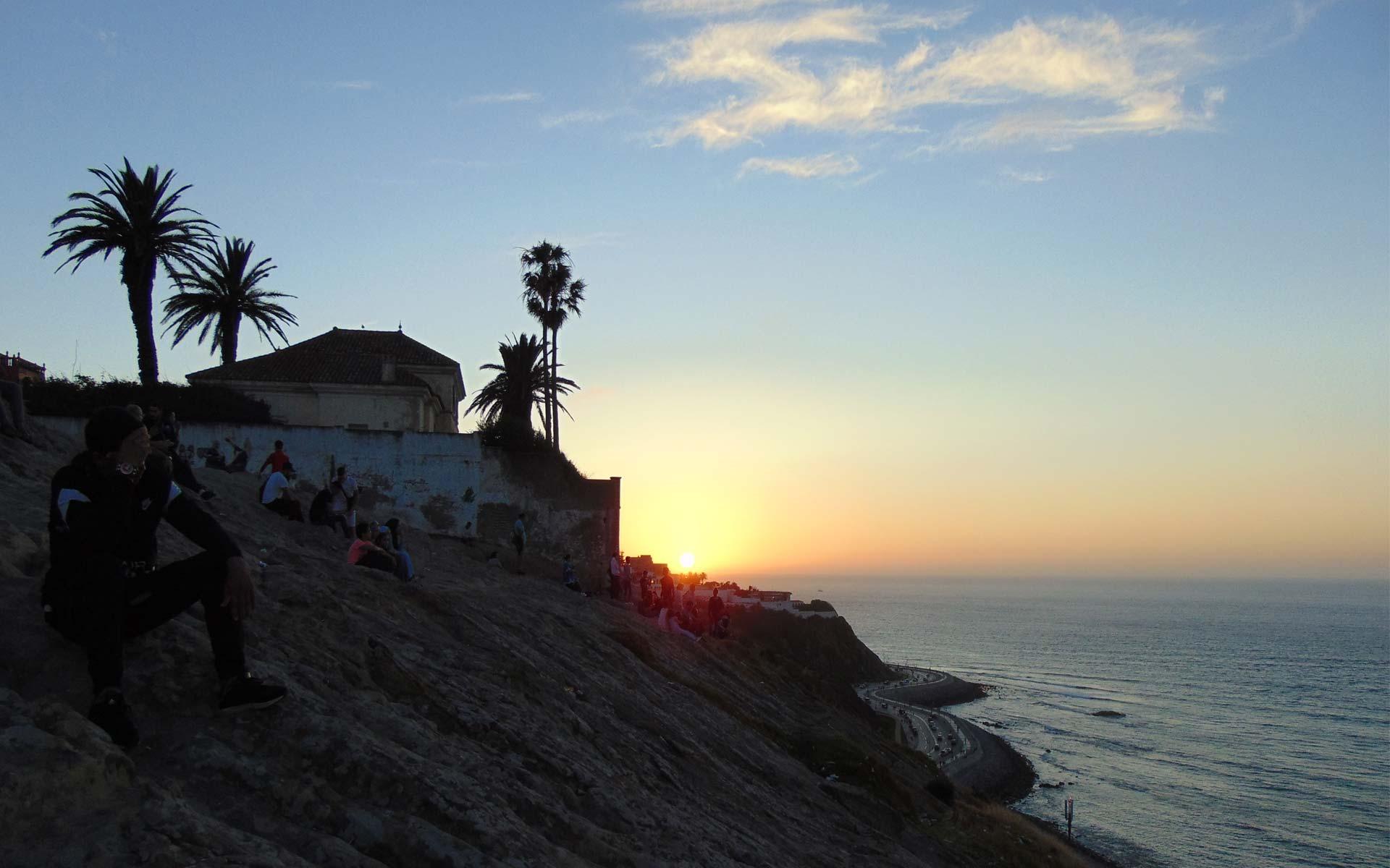 ... im Königreich des Sonnenuntergangs.